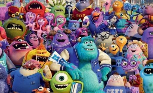 Fototapet med motivet: Disney Monsters Inc
