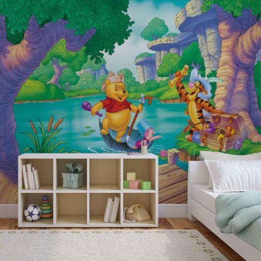 Fototapet med motivet: Disney Nalle Puh Nasse Tiger