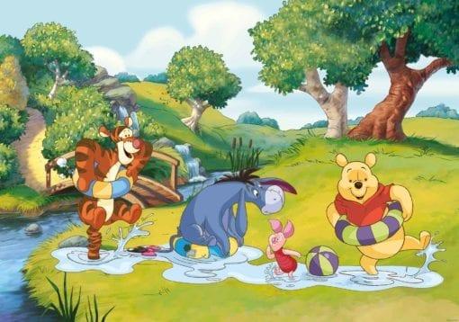 Fototapet med motivet: Disney Nalle Puh Tiger Ior Piglet