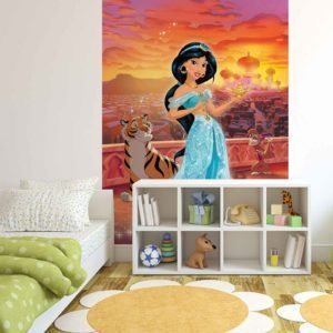 Fototapet med motivet: Disney Princesses Jasmine  Prinsessor