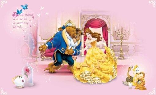 Fototapet med motivet: Disney Princesses Skönhet Beast Prinsessor