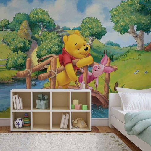 Fototapet med motivet: Disney Winnie Pooh Nalle Puh
