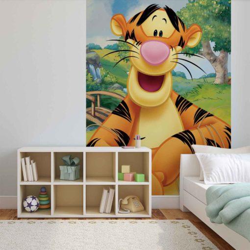 Fototapet med motivet: Disney Winnie Pooh Tiger Nalle Puh