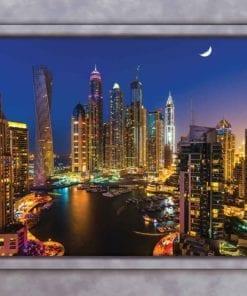 Fototapet med motivet: Dubai Skyline