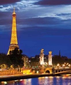 Fototapet med motivet: Eiffeltornet