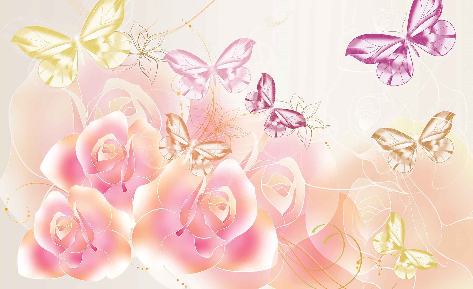 bilder på blommor och fjärilar