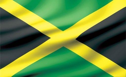 Fototapet med motivet: Flagga Jamaica