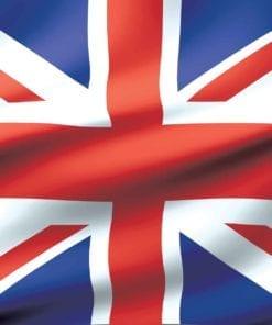 Fototapet med motivet: Flagga Storbritannien