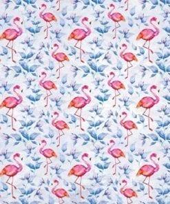 Fototapet med motivet: Flamingos fågeln mönstrar