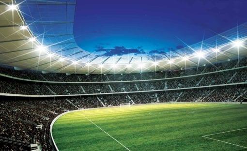Fototapet med motivet: Football Stadium Sport