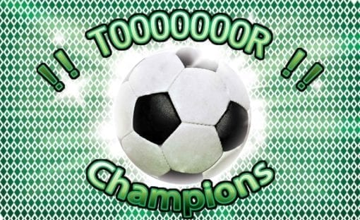 Fototapet med motivet: Fotboll