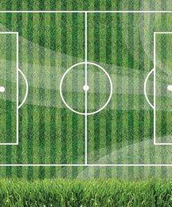 Fototapet med motivet: Fotbollsplan