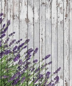 Fototapet med motivet: Lavendar trä plankor