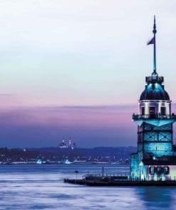 Fototapet med motivet: Maiden Tower