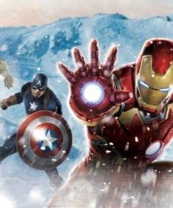 Fototapet med motivet: Marvel Avengers I Snö
