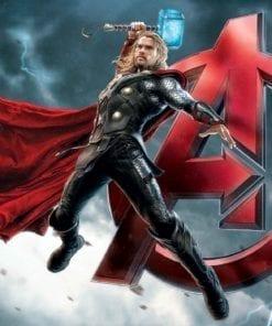 Fototapet med motivet: Marvel Avengers Thor