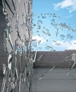Fototapet med motivet: Modern abstrakt arkitektur