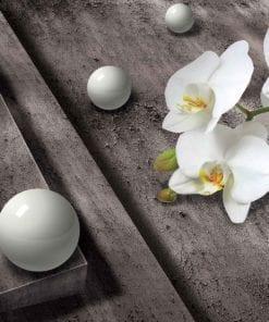Fototapet med motivet: Modern abstrakt blommor Design