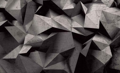 Fototapet med motivet: Modern abstrakt geometrisk konst