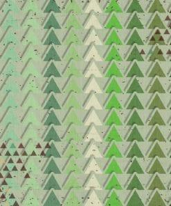 Fototapet med motivet: Modern abstrakt mönster Grön
