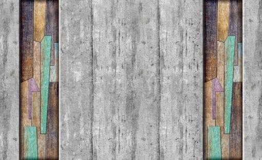 Fototapet med motivet: Modern trä plankor textur