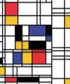 Fototapet med motivet: Mondrian Modern Konst