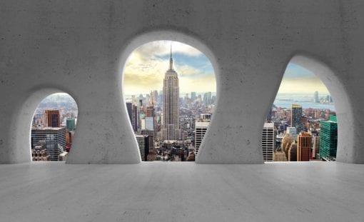Fototapet med motivet: New York City Utsikt