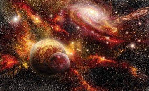 Fototapet med motivet: Rymden Planeter