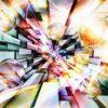Fototapet med motivet: Sammanfattning Multicolour Bubblor