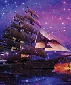 Fototapet med motivet: Segelbåt