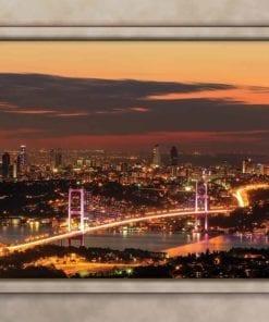 Fototapet med motivet: Skyline Utsikt Istanbul