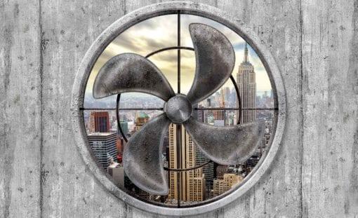 Fototapet med motivet: Stad Fan New York Empire State Skyline