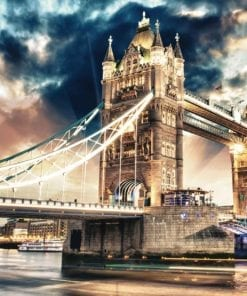 Fototapet med motivet: Stad London Tower Bridge
