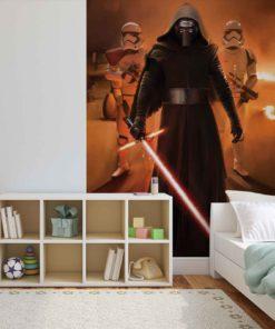 Fototapet med motivet: Star Wars Force Väcker