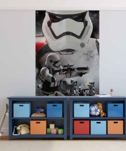 Fototapet med motivet: Star Wars Force Väcker Stormtrooper