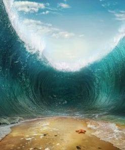 Fototapet med motivet: Strand Vågor Hav