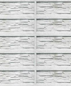 Fototapet med motivet: Tegelsten sten textur Vit