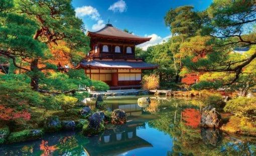 Fototapet med motivet: Temple Zen Japan Kultur