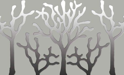 Fototapet med motivet: Träd Abstrakt