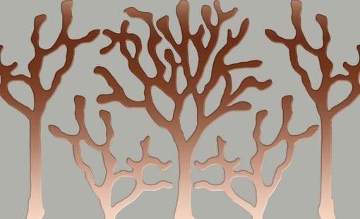 Fototapet med motivet: Träd Abstrakt Grå
