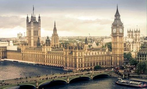 Fototapet med motivet: Utsikt över London