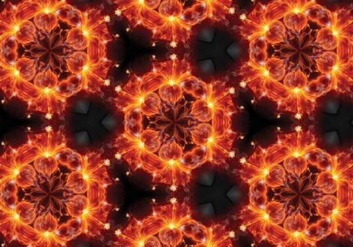 Fototapet med motivet: abstrakt mönster