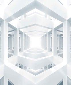 Fototapet med motivet: arkitektur Abstrakt