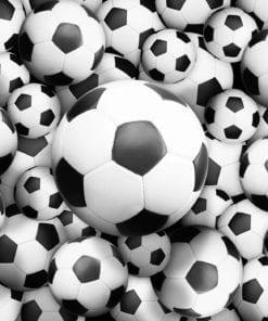 Fototapet med motivet: fotbollar