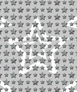 Fototapet med motivet: grå stjärnor