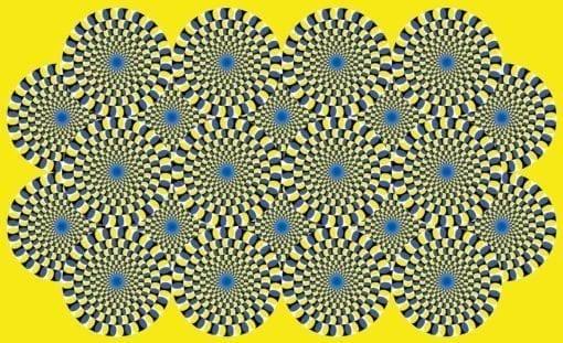 Fototapet med motivet: illusion Sammanfattning