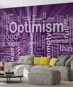 Fototapet med motivet: optimism Sammanfattning
